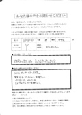 坂田鍼灸接骨院のアンケート